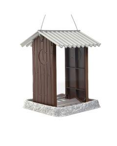 Northstates Outhouse Birdfeeder