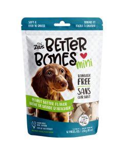 Zeus Better Bones Peanut Butter Flavour Mini Bones [12 Pack]