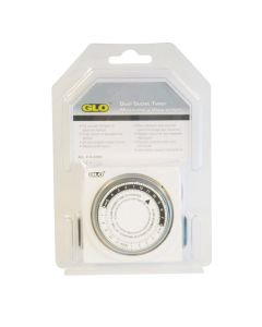 Glo Dual Outlet Timer