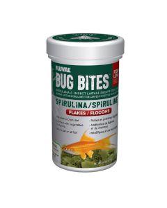 Fluval Bug Bites Spirulina Flakes [45g]