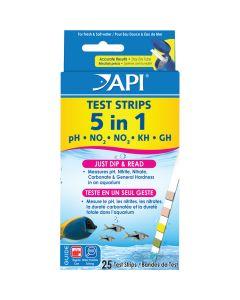 API Test Strips 5in1