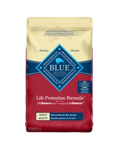 Blue Life Protection Formula Adult Fish and Brown Rice Dog Food [26lb]