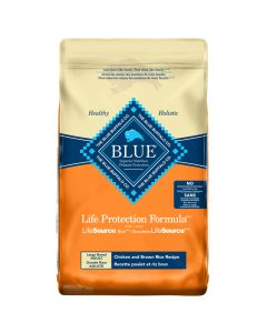 Blue Life Protection Formula Large Breed Adult Chicken and Brown Rice Dog Food [26lb]