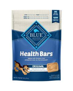 Blue Health Bars Chicken Liver Dog Treats [453g]