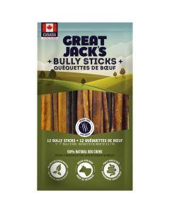 "Great Jack's Bully Sticks [5-7"" - 12 Pack]"