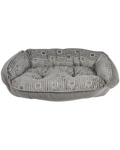 Bowsers Micro Jacquard Crescent Bed