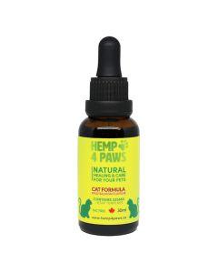 Hemp 4 Paws Hemp Seed Oil Cat Formula [225MG Hemp Terpenes - 30ml]