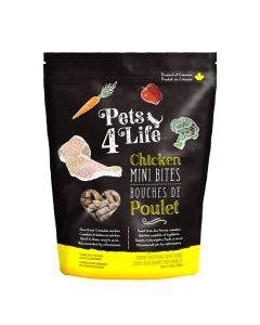 Pets4Life Frozen Chicken Mini Bites Cat Food [1.25lb]