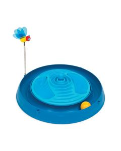 Catit Play Circuit with Massager Blue