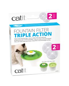 Catit Triple Action Filter (2 Pack)