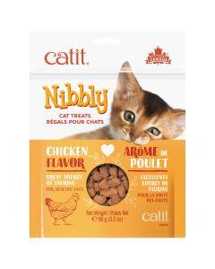 Catit Nibbly Chicken Cat Treats (90g)