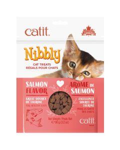 Catit Nibbly Salmon Cat Treats (90g)
