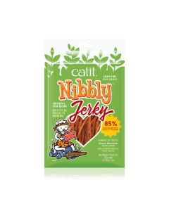 Catit Nibbly Jerky Chicken & Fish Recipe [30g]