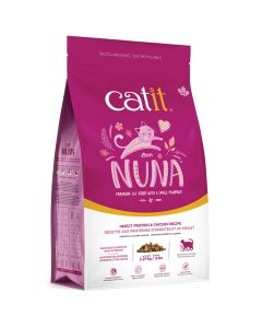 Catit Nuna Insect Protein & Chicken Cat Food [5lb]