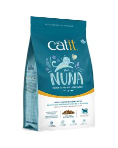 Catit Nuna Insect Protein & Herring Cat Food [5lb]