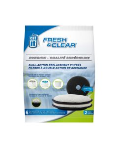 Catit Fresh & Clear Filters for 50023 (2 Pack)