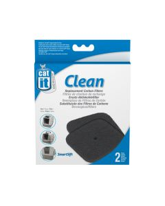 Catit Hooded Cat Pan Carbon Filter (2 Pack)