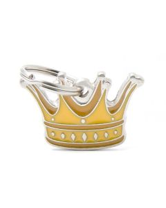 My Family CHARMS Crown Pet ID Tag