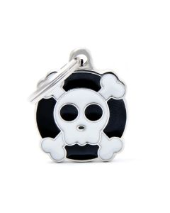 My Family CHARMS Skull Pet ID Tag