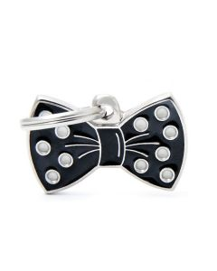 My Family CHARMS Bow Tie Pet ID Tag