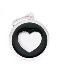 My Family CLASSIC Circle Heart Pet ID Tag