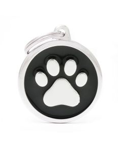 My Family CLASSIC Circle Paw Pet ID Tag