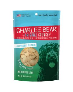 Charlee Bear Dog Treats with Cheese & Egg (453g)*