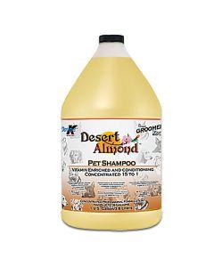 Double K Groomer's Edge Desert Almond Pet Shampoo [1 Gallon]