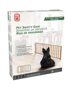 Dogit Pet Safety Gate with Door