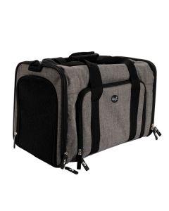 Dogit Explorer Soft Carrier Expandable Carry Bag Gray