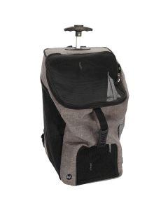 Dogit Explorer Soft Carrier 2-in-1 Wheeled Carrier/Backpack Gray
