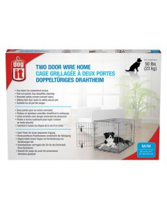 Dogit Two Door Wire Home