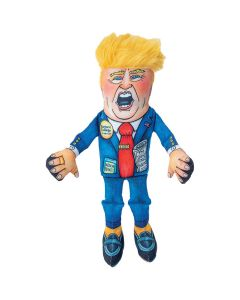 Fuzzu Donald Special Edition Squeaker Dog Toy [Small]