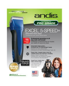 Andis Excel 5-Speed+ Clipper Blue