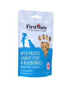 FirstMate Wild Pacific Caught Fish & Blueberries Grain Free Cookies [226g]