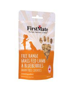 FirstMate Free Range Grass Fed Lamb & Blueberries Grain Free Cookies [226g]