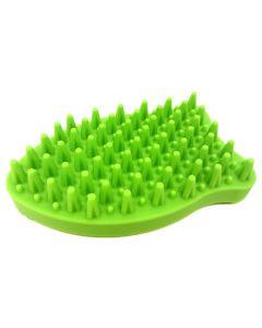 FFD Pet Groomie Green Fish Brush
