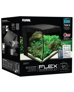 Fluval Flex Freshwater Aquarium Kit