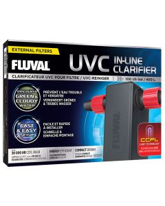 Fluval UVC In-Line Clarifier [Up to 100 Gallons]