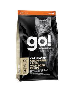 Go! Solutions Carnivore Grain-Free Lamb + Wild Boar Cat Food