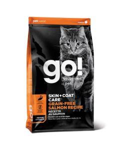 Go! Solutions Skin + Coat Care Grain Free Salmon Cat Food