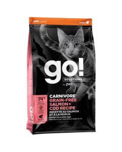 Go! Solutions Carnivore Grain-Free Salmon + Cod Cat Food