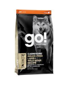 Go! Solutions Carnivore Grain-Free Lamb + Wild Boar Dog Food