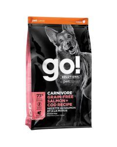 Go! Solutions Carnivore Grain-Free Salmon + Cod Dog Food
