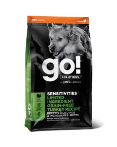 Go! Solutions Sensitivities Limited Ingredient Grain-Free Turkey Dog Food