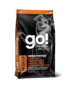 Go! Solutions Sensitivities Limited Ingredient Grain-Free Venison Dog Food