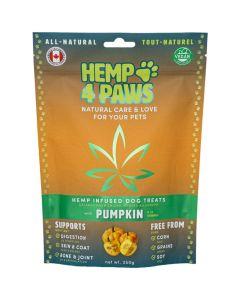 Hemp 4 Paws Pumpkin Dog Treats [250g]