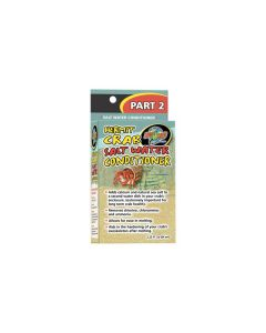 Zoo Med Hermit Crab Salt Water Conditioner (64ml)