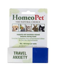 HomeoPet Travel Anxiety (15ml)