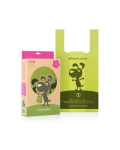 Earth Rated Handle Poop Bags Scented (120 Bags)